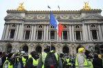 法国黄背心运动第5周 示威人数大不如前