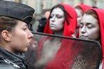 黄背心第五轮示威 6万人上街人数减半
